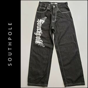 Southpole Kids Boys Straight Leg Denim Jeans Sz 10